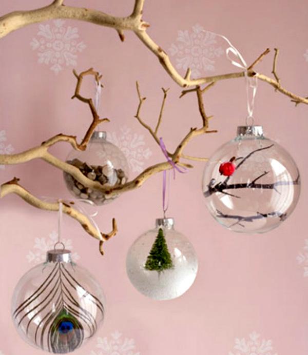 45e756d7fe89 7+2 Τρόποι να ενσωματώσετε χριστουγεννιάτικες μπάλες στη διακόσμηση της  μεγάλης μέρας