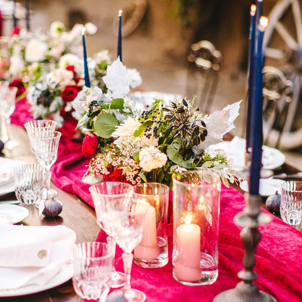 e81b3ceb20ef 10 Τρόποι να χρησιμοποιήσετε χρωματιστά κεριά στη διακόσμηση της γαμήλιας  δεξίωσης gamosorganosi