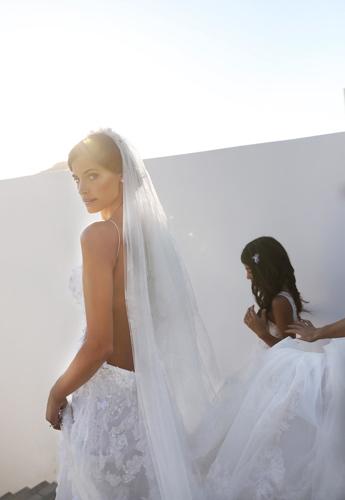 Το bridal look με την υπογραφή Celia Kritharioti Couture