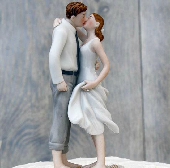για την κορυφή της γαμήλιας τούρτας