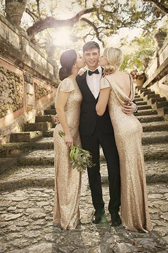 Όμορφο φόρεμα για την κουμπάρα