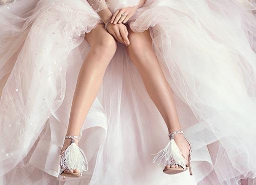 0e6bd3924150 Μοντέρνα Σταχτοπούτα  Οι Τάσεις στα Νυφικά Παπούτσια για το 2017