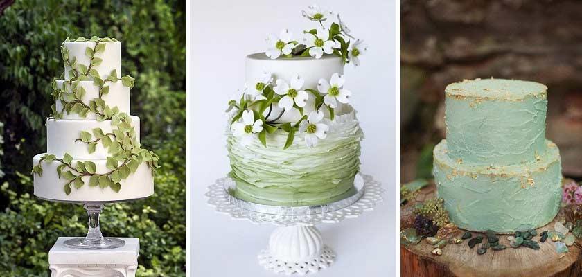 Ιδέες για τη γαμήλια τούρτα.