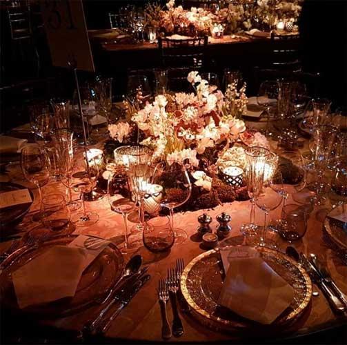 Art de la table απο την δεξίωση Γουλανδρή