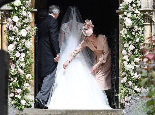 Ο γάμος της Pippa Middleton