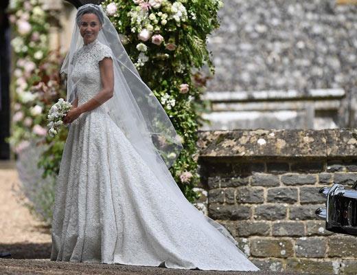Το νυφικό της Pippa Middleton