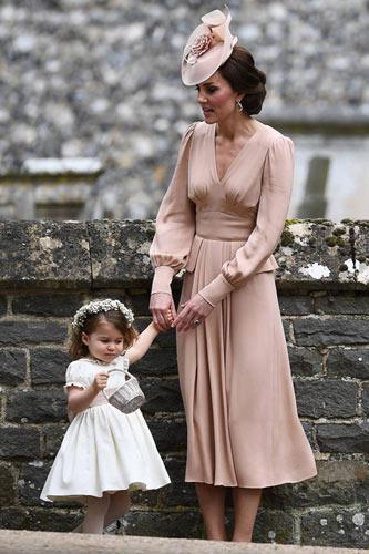 Η kate Middleton στον γάμο της αδερφής της